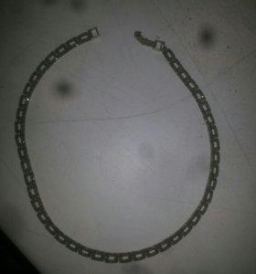 Колье серебро