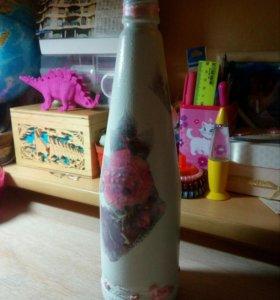 Бутылочка для декора)