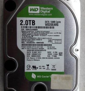 Жесткий диск Western Digital WD20EARS - 2Tb