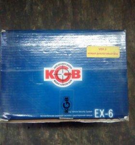 Сигнализация KGB EX-6