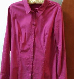 Блузка-рубашка 48 размер