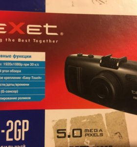 Видеорегистратор с GPS и Full HD Texet DVR-2GP