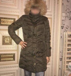 Пальто пуховик zolla