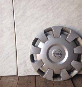 Колпаки оригинал на диски Opel, R16