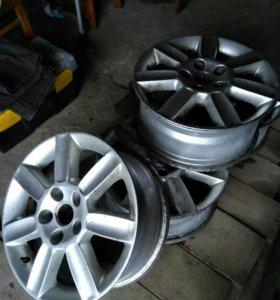 Литые диски на Тойоту РАВ4