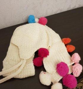 Новая!!! Шапка+шарфик.