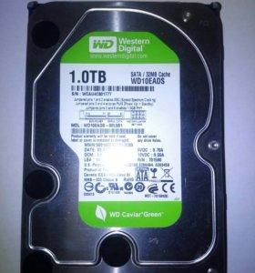 """Жесткий диск HDD 3.5"""" SATA 1TB Western Digital WD"""