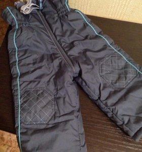 Зимние болоневые штаны брюки