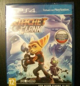 Ratchet and Clank PS4 на русском языке