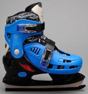 Новые хоккейные коньки JOEREX 32-35