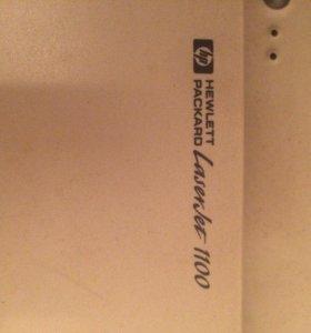 Принтер HP LaserJet1100 на запчасти