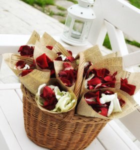 Лепестки роз. Кулёчки