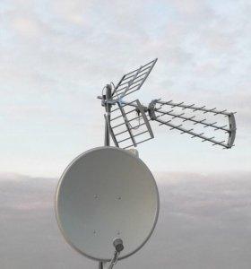 Установка и настройка телевизионных антенн