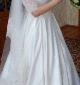 Свадебное платье новое одето только один раз.
