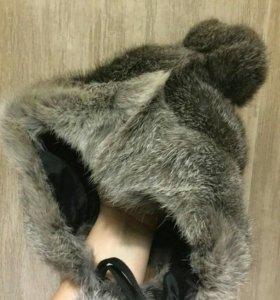 Шапка кролик 4-5лет