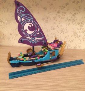 Лего корабль Elves