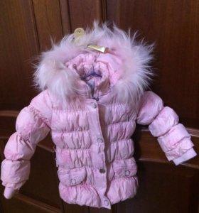 Курточка зима на девочку 4 года