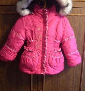 Куртка зима новая. 98