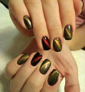 Маникюр и Педикюр+Наращивание ногтей