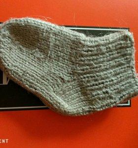 Шерстяные носки Б/у. 1-2 годика