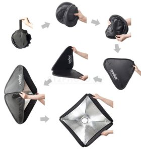 Студийный свет Godox софтбоксы октабоксы аксесуары