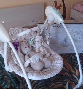 Качели Mothercare travel swing+ подарок