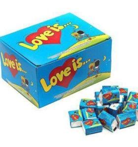 Жвачка Love is