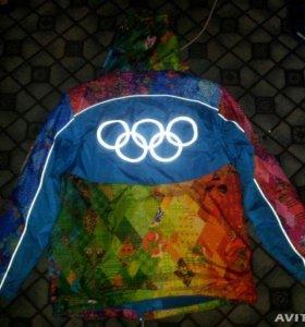 Куртка-жилет, дождевик, кепка и сумка Сочи 2014
