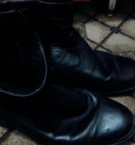 Туфли осенние с мехом р43