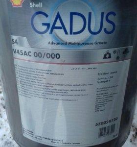 Смазка Shell Gadus s4 v45ac 00/000