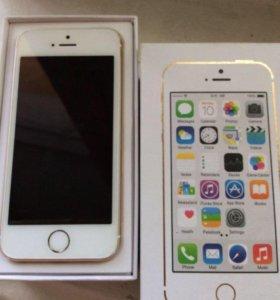 Отличный айфон 5s 16G Gold