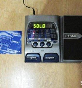 Гитарный процессор Digitech RP200.