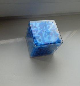 Кубик- объёмный лабиринт новый