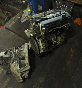 Двигатель с коробкой мазда3
