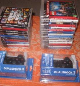 Джойстики и игры на PS3