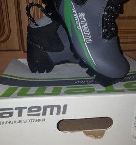 Лыжные ботинки для мальчика