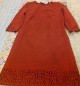 Платье (замша)