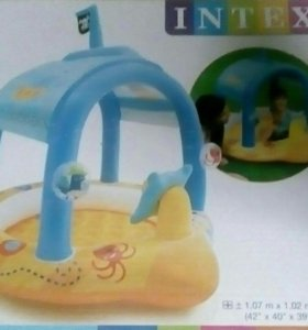 Детский бассейн кораблик