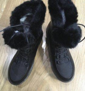 Новые Зимние ботинки р-р 37-38