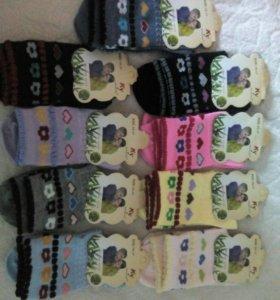 Новые детские носочки 15-17см