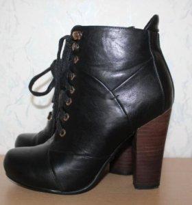 Ботинки 36р кожаные д\с