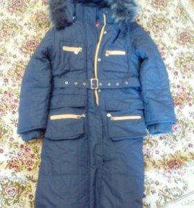 Пальто зимнее KIKO девочки