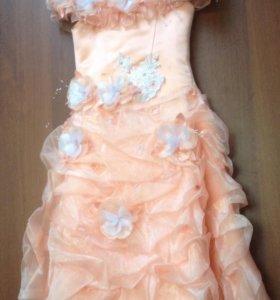 Платье дев., 110-134 см