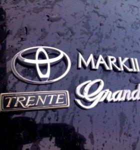 Шильды на Toyota Mark II,Chaser,Cresta
