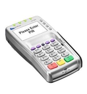 Пинпад, терминал оплаты картами. VX 805 новый