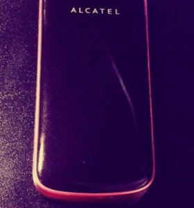Телефон Alcatel раскладушка, кнопочный, 2 sim