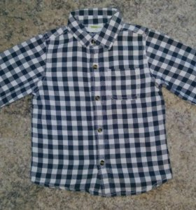 Фланелевая рубашка на 3 года
