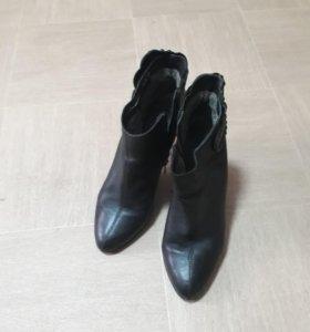 Туфли из телячьей кожи SINTA