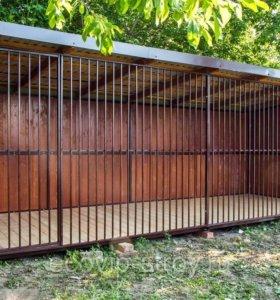 Вольер домик для вашего питомца размер 2х4 м