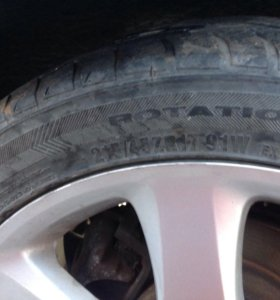 Литые диски Toyota R17